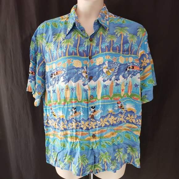4262a22c Disney Other Reyn Spooner S Mickey Mouse Hawaiian Shirt